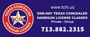 Texas Conceaeled Handgun Licenses